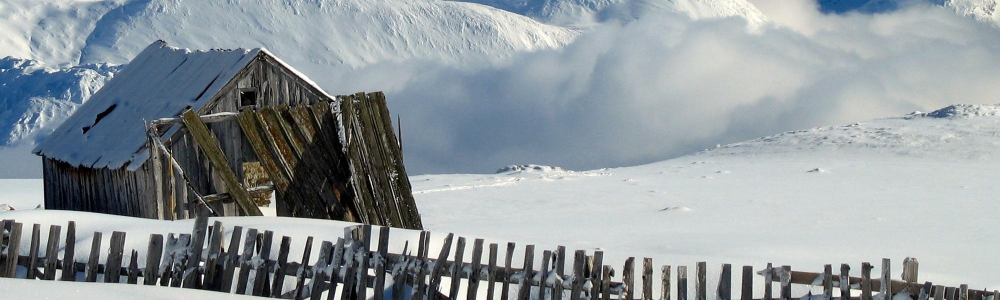 Cabanon en bois, au coeur du domaine skiable d'Aussois